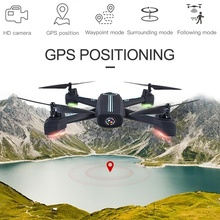 Upgrade Drone RC Quadcopter with Camera 720P HD Altitude Hold Headless Mode Pocket Drones GPS Positioning VS 8807 8807W Drone