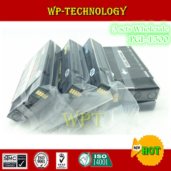 12PK compatible ink cartridges suit for PGI1500 K C M Y , PGI-1500 suit for Canon MAXIFY MB2050 , MAXIFY MB2350 etc фото