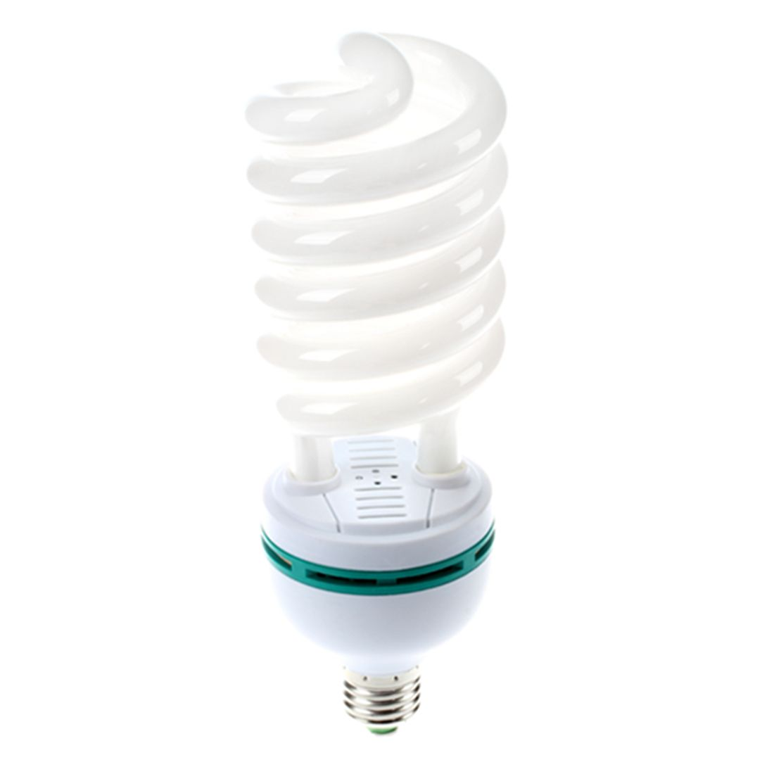 105W (525W Equiv) 5500K Photography Daylight E27 Fitting CFL Bulb 1pc 150w 220v 5500k e27 photo studio bulb video light photography daylight lamp for digital camera photography
