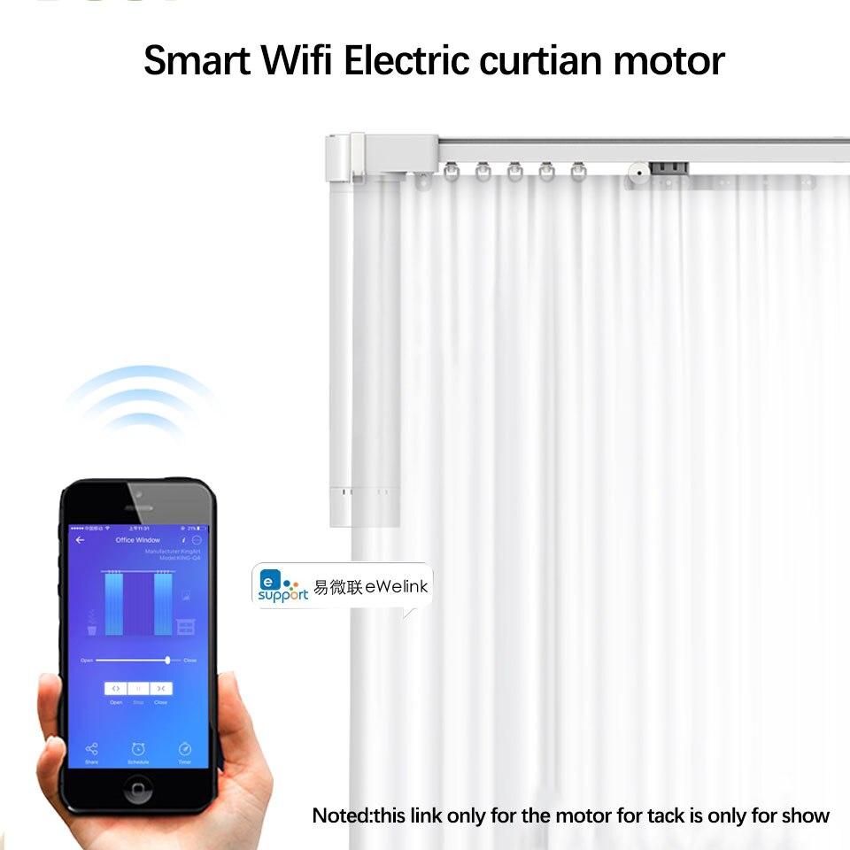 Application intelligente d'ewelink de moteur électrique, travail à distance de moteur de rideau de Wifi à la maison intelligente/commande vocale avec Alexa/google Home pour la maison intelligente
