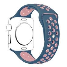 42 ММ S/M Размер Силиконовый Ремешок Для Apple Watch Band Спорт Ремешок для Apple Watch 15 Цветов