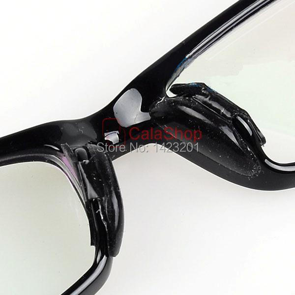 71cef96a44e 10 pair Soft stick on glasses Silicone Nose Pads For Eyeglass sunglass  spectacles clear Black-in Bath Mats from Home   Garden on Aliexpress.com