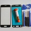 Передняя Внешний Стеклянный Объектив Панель для Samsung Galaxy S5 mini G800 Замена Части и LOCA УФ клея и Инструментов и клей