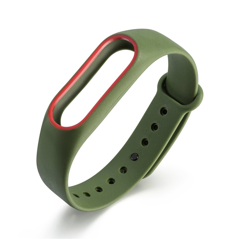 1 Pcs Pedometer Wrist Straps Silicone Wrist Strap For Xiaomi Mi Band 2 Pedometers Bracelet Running Fitness Sports Accessories