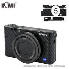アンチスクラッチカメラ本体カバー炭素繊維フィルムソニーRX100 v RX100 va RX100 iii RX100M5 RX100M5A RX100M3 3 3mステッカー