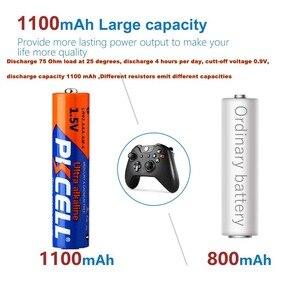 Image 4 - PKCELL 1.5 V LR03 AAA Batterijen Alkaline Enkele Gebruik E92 AM4 MX2400 3A Batterij = 48 Pcs/12 kaart