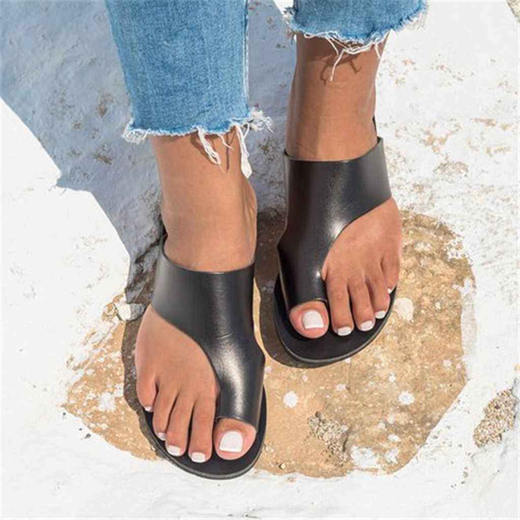 Women Leather Shoes Comfy Platform Flat