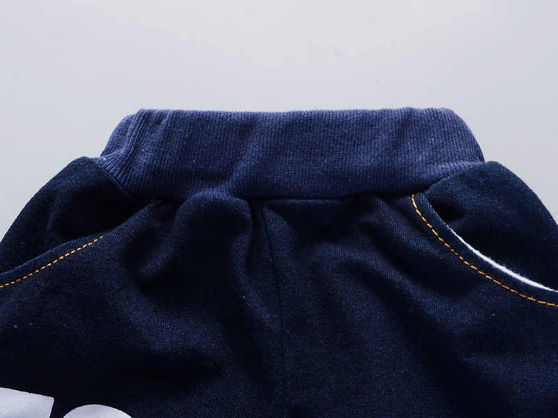 BibiCola תינוק בני בגדי סט יילוד בני אביב סתיו ג 'ינס חליפת ספורט תינוקות בני אימונית תלבושות Bebe בגדי חליפה
