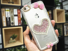XINGDUO phone case for Huawei P10 Lite P20 PRO Mate 20 Pro Glitter Pearl Rhinestone Bow love Diamond Crystal shell