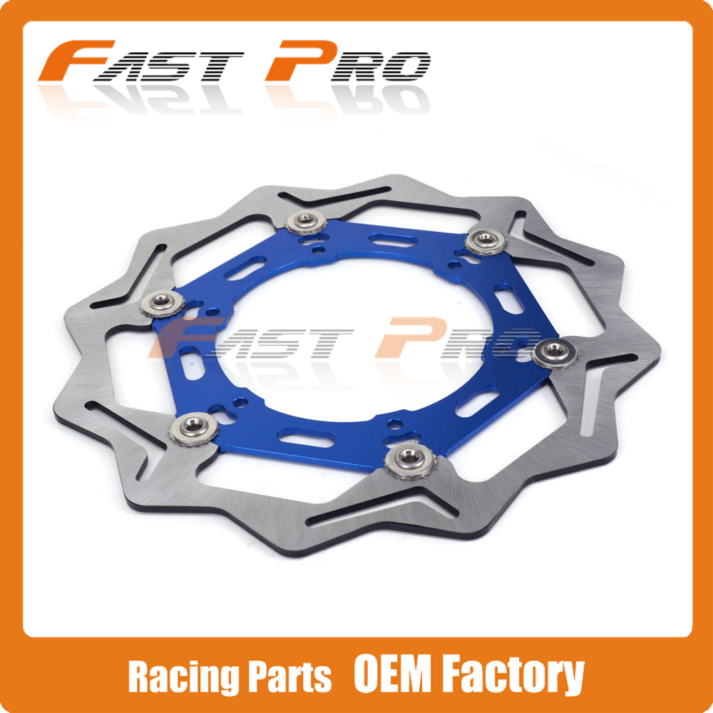 270MM Front Floating Brake Disc Rotor For WR250 01-07 YZ250 WR250F 01-13 YZ250F 01-15 WR450F YZ450F 03-15 WR426F YZ426F 01-02 keoghs motorcycle brake disc brake rotor floating 260mm 82mm diameter cnc for yamaha scooter bws cygnus front disc replace