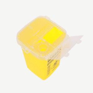 Image 4 - 1L Capacity Sharps Container Medical Needles Bin Biohazard Tattoo Piercing Needles Disposal Collect Box Tattoo Artist Waste Box