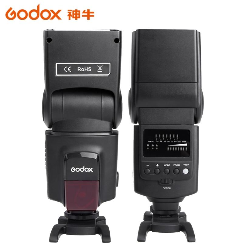 ФОТО Godox Speedlite Flash TT600 Manual Zoom for Canon Nikon Pentax Olympus with Mini Stand
