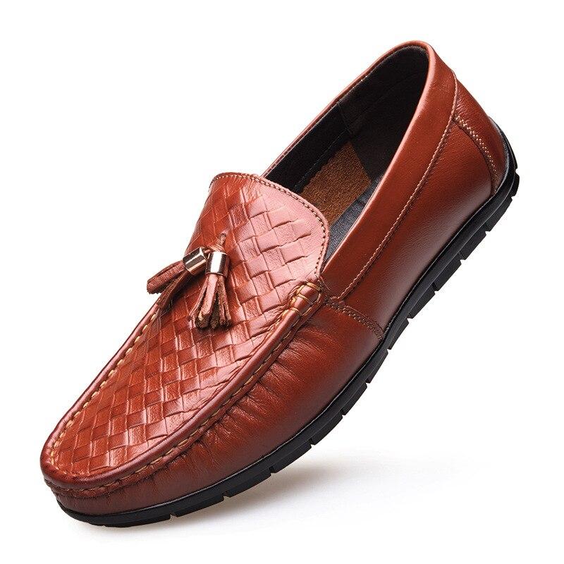 TANTU الرجال حذاء رسمي أحدث الرسمي مكتب الزفاف أحذية للرجال تنقش جلد طبيعي اللباس أحذية حجم 39 44-في أحذية رسمية من أحذية على  مجموعة 1
