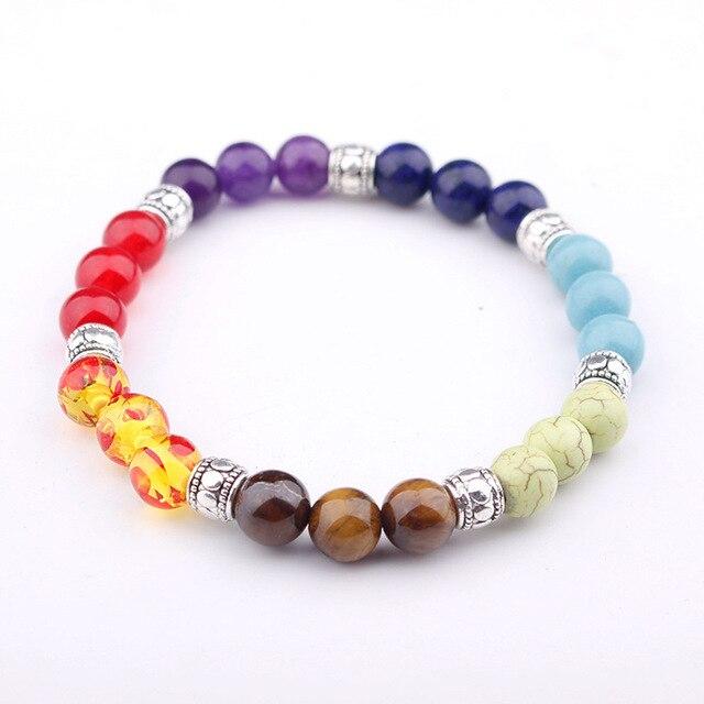 7 Chakra Healing Lava Bracelet2