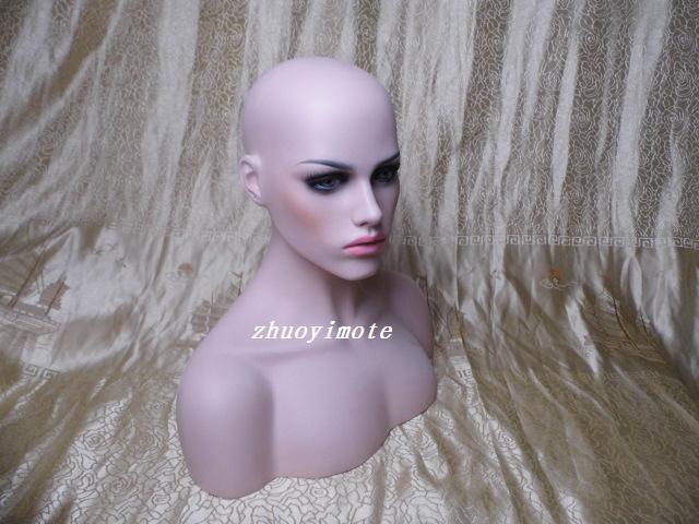 Europea modehuvudform kvinnlig peruka huvud skyltdocka mode make-up - Konst, hantverk och sömnad - Foto 5