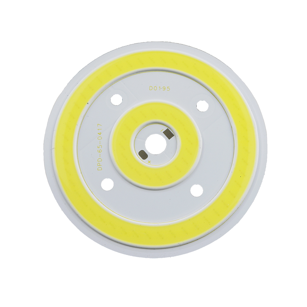 10W Ultra Bright Round COB <font><b>LED</b></font> Pure White Light Lamp source Chips Diy DC <font><b>12V</b></font> 800MA 3 years warranty NEW 1pcs image