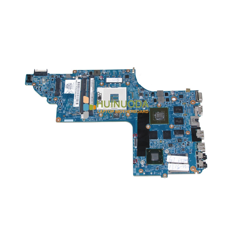 NOKOTION Laptop mothboard For hp pavilion DV6-7000 DV6 Nvidia 15.6'' ddr3 48.4ST06.021 682172-001 mainboard warranty 60 days bargain laptop motherboard for hp dv6 pm45 chipset 518432 001 daut3dmb8d0 60 days warranty