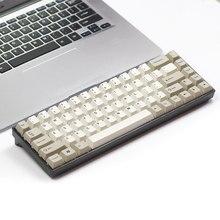 Tada68 clavier mécanique gateron swtich 65% mise en page colorant sub keycaps cherry profils enjoypbt keycap cherry profil zealio switch