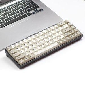 Image 1 - Tada68 メカニカルキーボード gateron swtich 65% レイアウト染料サブキーキャップ桜 profils enjoypbt キーキャップ桜プロファイル zealio スイッチ