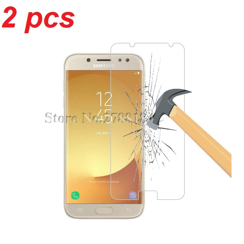2pcs Tempered Glass For <font><b>Samsung</b></font> Galaxy J1 J3 J5 J7 2016 J3 J5 J7 2017 J5 J7 <font><b>J2</b></font> <font><b>Prime</b></font> S6 Tempered Glass Screen Protector