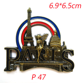 3D Paris Tower Fridge Magnet  1