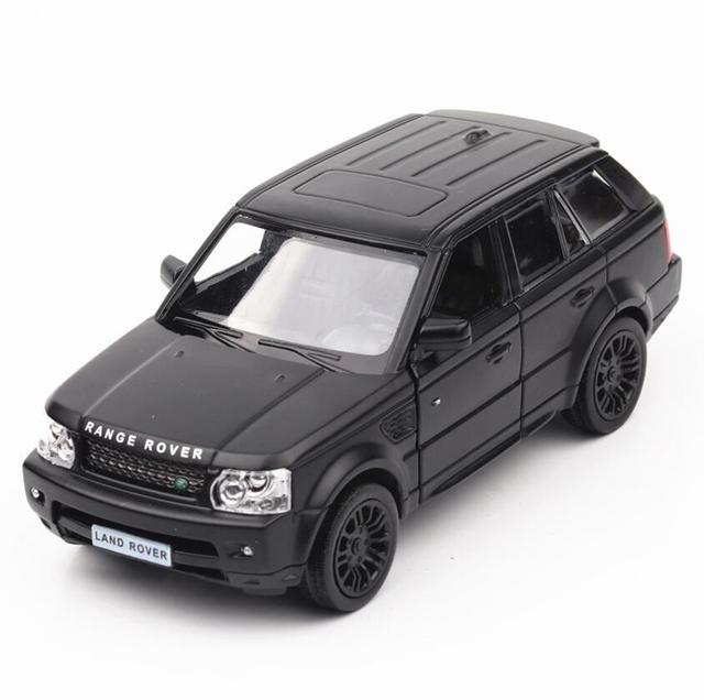 1:36 Scale Diecast Alloy Metal Car Model For Range Rover Collection Diecasts & Toy Vehicles Car Toy Pull Back Toys Car