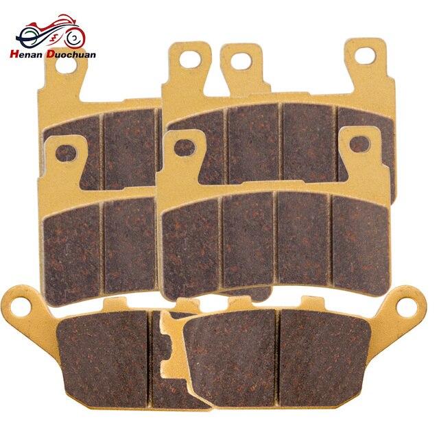 3pair Vorne Hinten Motorrad Disk Bremsbeläge Für HOMDA CB 400 SF4/5/S CBR 900 CBR 600 VTR 1000 CB 1300 A5/A6/A7/A8/A9S5/S6 02 12
