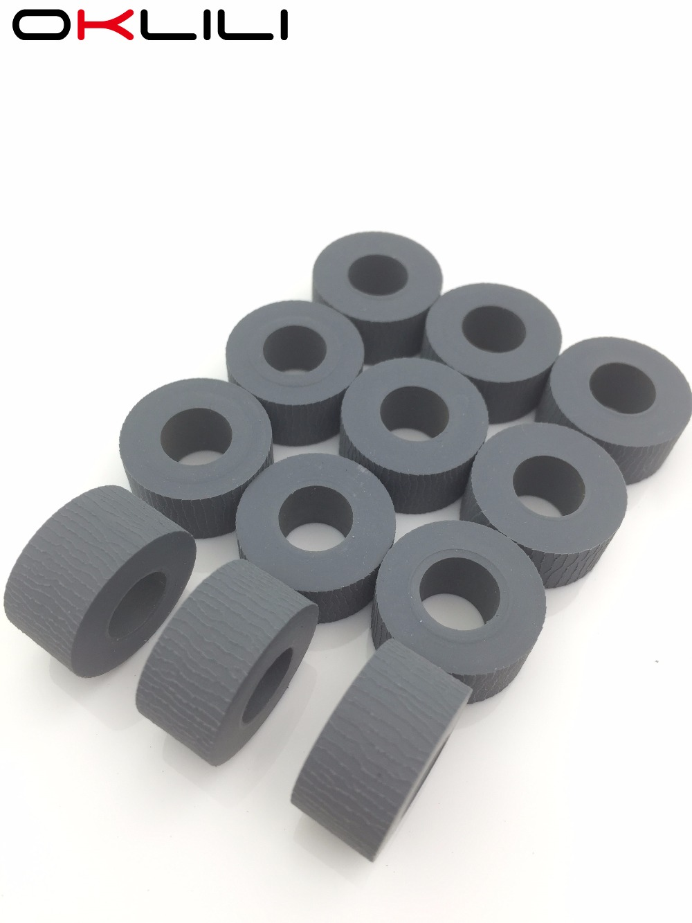 Paper Feed Pickup Roller tire for OKI B6200 B6200N B6250N B6300 B6300N B6500 B6500N B710DN B710 for Xerox 4500 4510 7100DN 7100N pickup roller feed roller separation roller for epson r200 r210 r220 r230 r310 r350