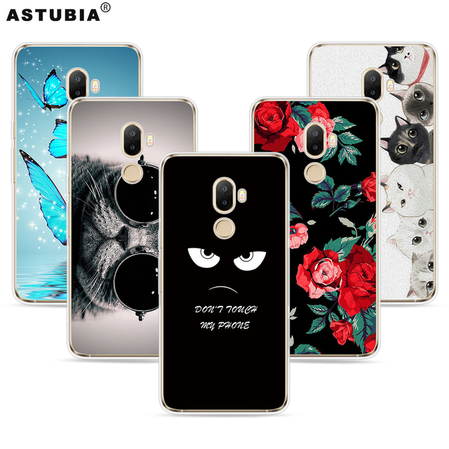 brand new 278d4 ef2d9 US $4.32 |ASTUBIA Case For Ulefone S8 Cover For Ulefone S8 Pro Case Silicon  Cat Flower Painted Capa For Ulefone S8 5.3 Case For S8 Ulefone-in Fitted ...