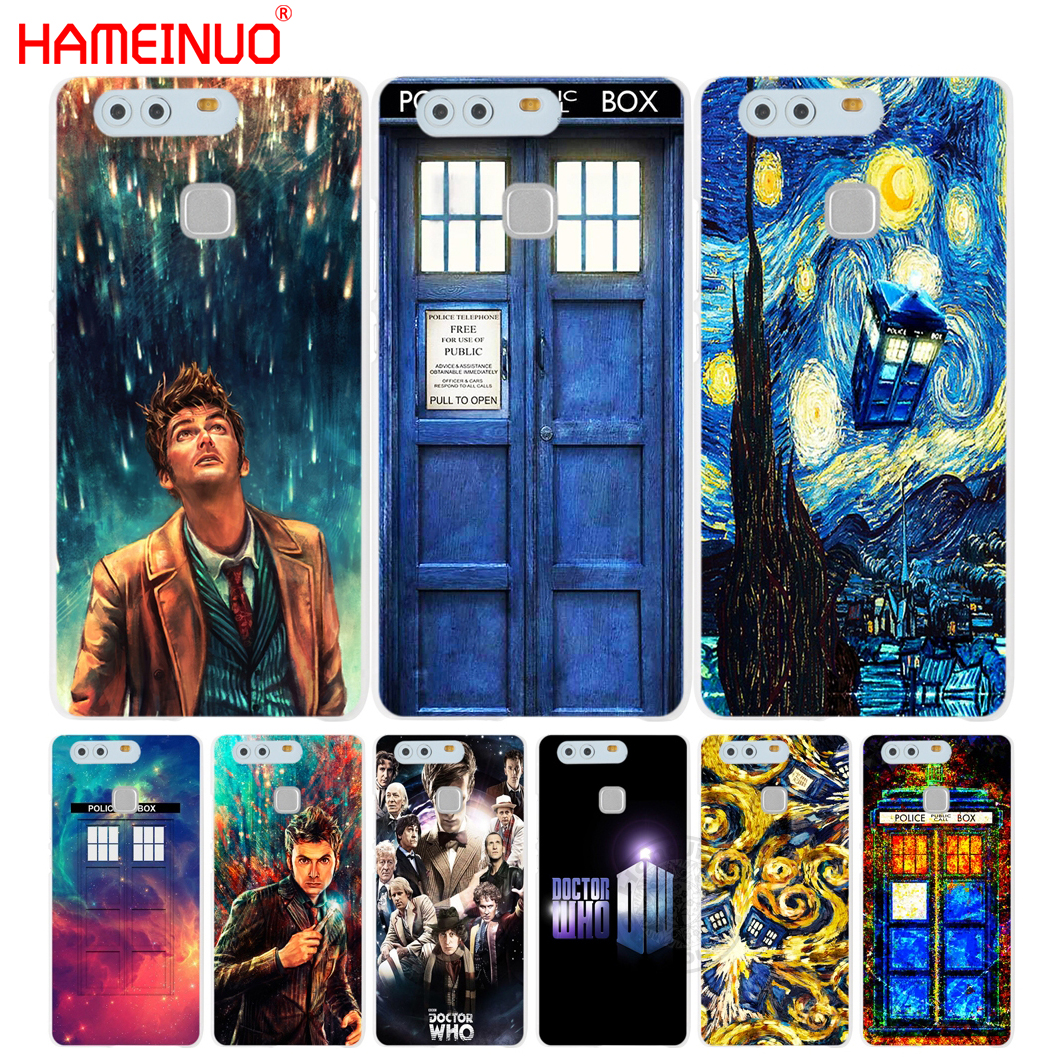 HAMEINUO Doctor Who Cover phone Case for huawei Ascend P7 P8 P9 lite plus G8 G7 honor 5C 2017