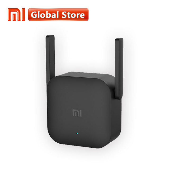 Original Xiaomi WiFi Amplifier Pro 300Mbps Amplificador Wi-Fi Repeater Wifi Signal Cover Extender Repeater 2.4G Mi Wireless Blac