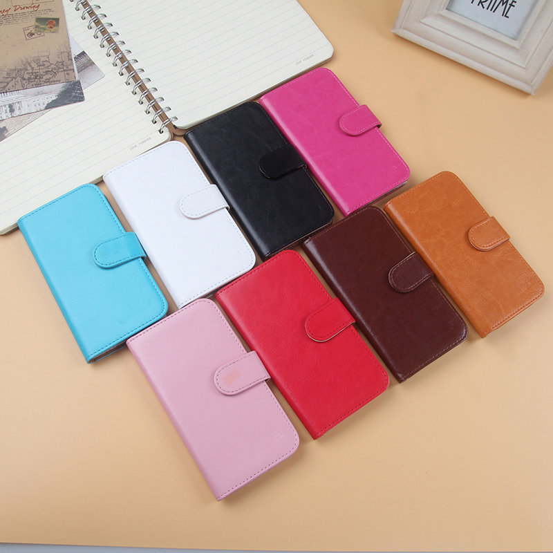 AiLiShi Hot Sale PU Leather Case Book Flip For ZTE Blade A610c Case Wallet Protective Cover Skin In Stock 8-Colors