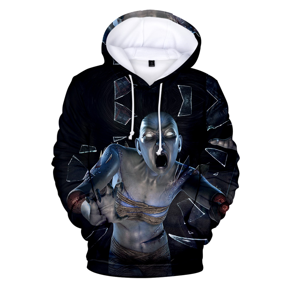 Male Hoody Dead By Daylight Hoodies Boy Streetwear Sweatshirt Dead By Daylight Game Character Print Long Sleeve Student Pullover