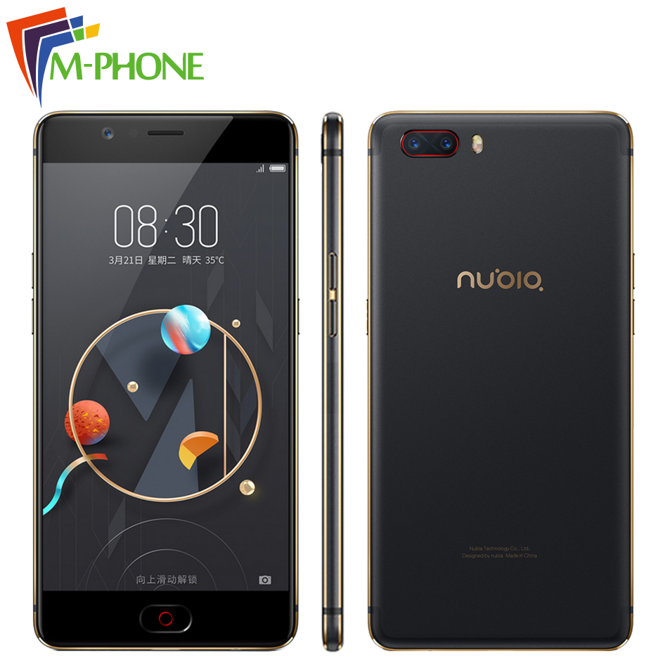 New Original Nubia M2 Mobile Phone 4GB RAM 64GB ROM Octa Core 5 5 inch 16MP