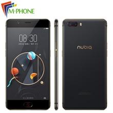 Новый оригинальный Нубия M2 мобильный телефон 4 ГБ Оперативная память 64 ГБ Встроенная память Octa Core 5.5 дюймов 16MP двойной 13MP Камера Android N 3000 мАч 4 г LTE смартфон