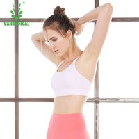 Sweat Seamless Sports Bras Women Wirefree Padded Yoga Bra Underwear Athletic Vest Gym Fitness Running Tank Tops