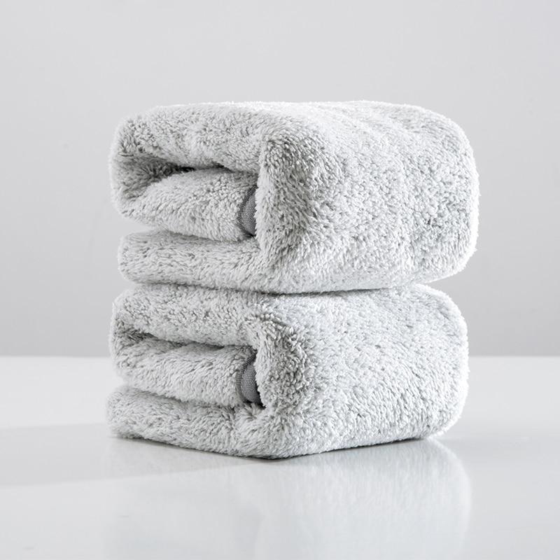 SINSNAN fibra de carbono suave gruesa toalla para adultos Superabsorbent microfibra toalla cabello seco para las mujeres baño/rostro/deporte /gimnasio toallas