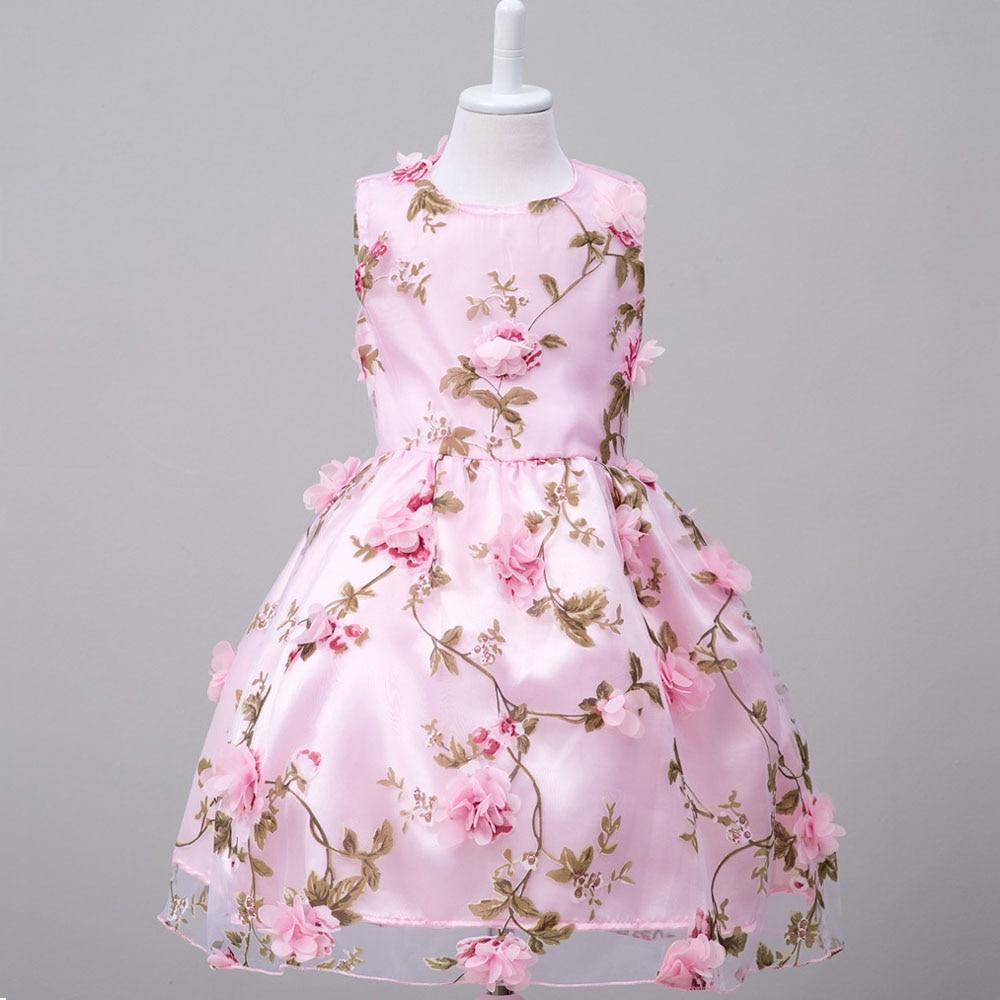 Cinderella Costume Long Princess Dress Girl Wedding Party Dresses ...