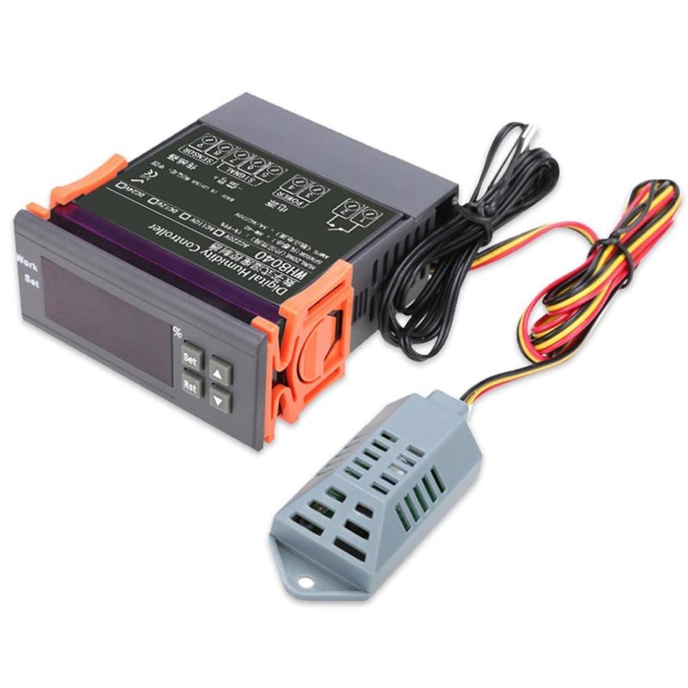 12V/24V/110V/220V Digital Thermostat Temperature Humidity Controller Air Humidity Controller 1%RH~99%RH Hygrostat Humidistat
