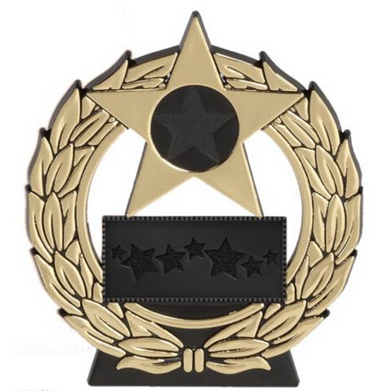 US $530 0  Factory Wholesale cheap STAR PLAQUE TROPHY MEDALS AWARD SCHOOL  low price cut out medals gold -in Non-currency Coins from Home & Garden on