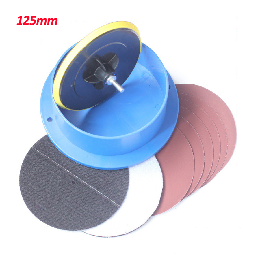 ФОТО 125mm polishing disk barrels for buddha beads diy woodworking tools wooden beads rosary bead molding polishing machine