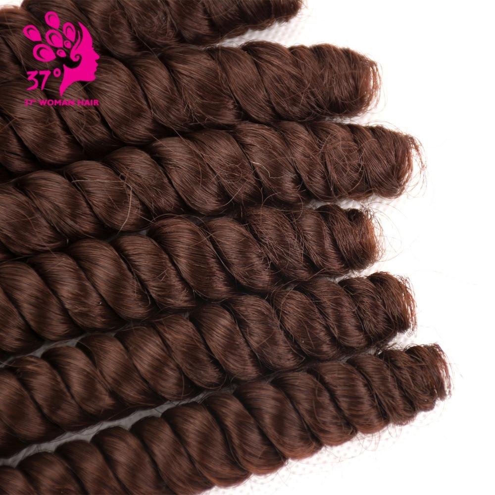 de cabelo sintético tecelagem do cabelo da