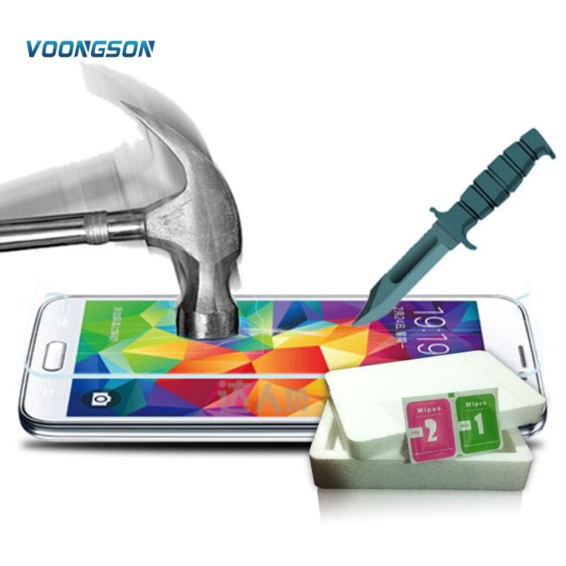 Voongson 9 h vidrio templado superior para Samsung Galaxy S7 S6 S5 ...