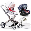 New Hot Sale Baby Stroller 3 in 1,Baby Pram Children Pushchair,Comfortable Newborn Carriage,Infant Baby Car Seat Sleeping Basket