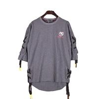 Retro t Shirt Men Short Sleeves Loose Tshirt Men Fashions Oversize Swag Man Tshirt Casual Punk Rock Rave Hipster Streetwear T710
