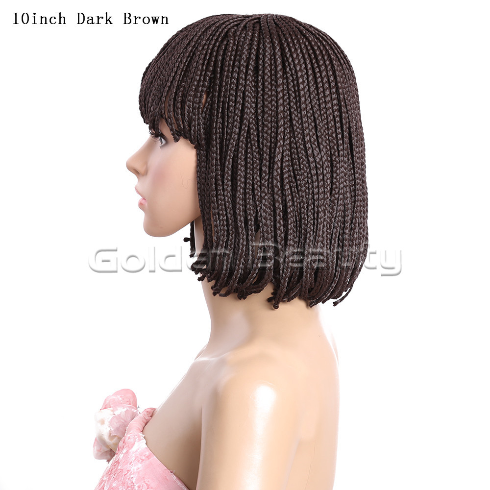 10-Dark Brown #4 278g Box braid wig (4)
