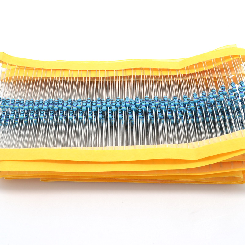 100pcs 470 Ohm 1% 1/4W Metal Film Resistors