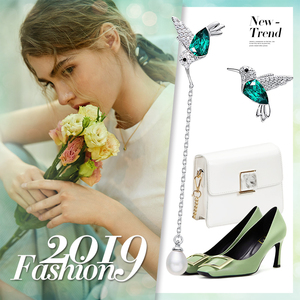 Image 5 - Cdyle 925 Sterling Silver Bird Earrings Embellished with Crystal from Swarovski Stud Earrings for Women Piercing Oreja