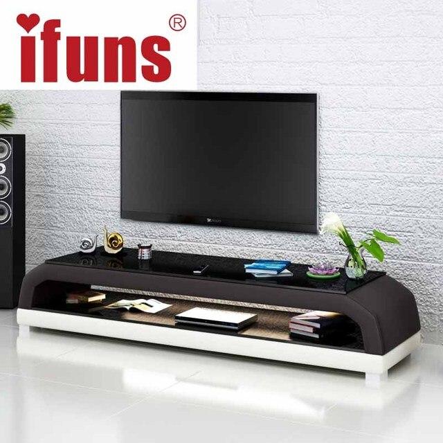 Mesas de tv moderna carrinho da tev do vidro tv for Mesas para tv modernas