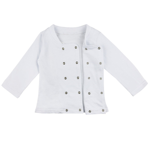 Image 4 - Fantasia de cozinha para cosplay, uniforme de chef de cozinha, roupas para bebê, meninos e meninas, carnaval, halloween